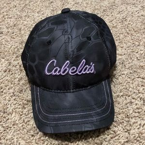 Cabela's Women's Black Baseball Hat One Size